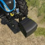 NEW HOLLAND WEIGHT V1.0 / FS19 Implements and Tools