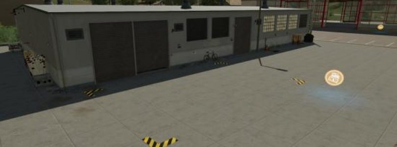 Trigger Markings Prefab (Prefab*) / FS19 building