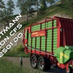 STRAUTMANN ZELON CFS 2501 DO V1.0 / FS19 Implements and Tools
