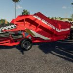 GRIMME RH2460 EDIT SILAGE / FS19 Implements and Tools