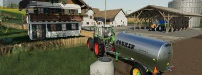 FIELD SHAFT WITH WATER TRIGGER V1.0 / FS19 building