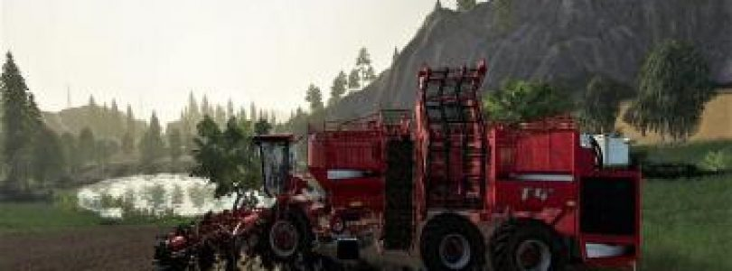 TERRA DOS T 4_40 + HOLMER HR 12 CUTTING UNIT (POTATO ONLY) V1.0 / FS19 combines