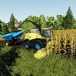 NH FR 780 MODEL 2018 BY CHEVA / FS19 combines