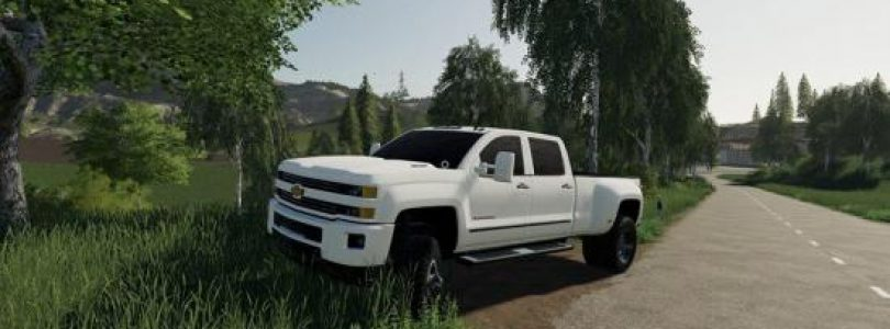 CHEVYDUALLY 3500HD V1.0 / FS19 cars