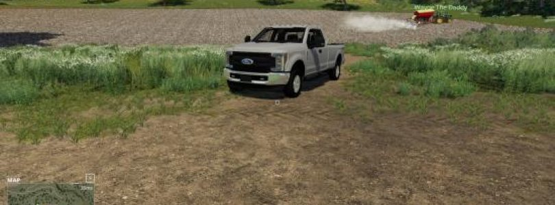 2017 FORD F-250 V1.0 / FS19 cars