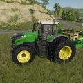 DAMCON PL-75 PLANTER + 60 TREE SAPLINGS PALLETS V1.0 / FS19 Implements and Tools
