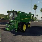 JOHN DEERE S790 AND 645FD HEADER V1.0 / FS19 combines