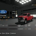 2017 FORD F250 FIXED V2.0 / FS19 cars