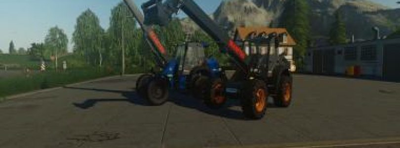 MANITOU MLAT 533 TELELADER V1.0.1 / FS19 Excavators and forklifts