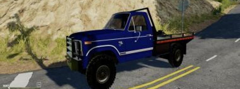 1983 FORD F150 V1.0 / FS19 cars