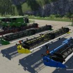 Case IH 3162 cutting unit V 1.0.0.1 / FS19 cutters