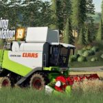 CLAAS LEXION 530 V1.0.0.0 / FS19 combines