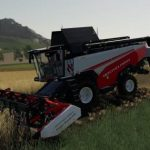 RSM161 WITH CUTTING ATTACHMENT FIX V1.0 / FS19 combines