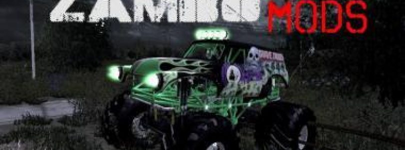 GRAVE DIGGER MONSTER TRUCK V1.0 / FS19 cars