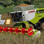 FS19 CLAAS LEXION 780 V1.0.0.0 / FS19 combines