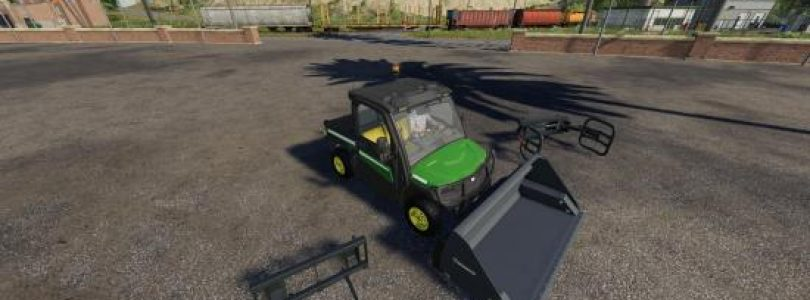JOHN DEERE GATOR UTILITY VEHICLE V1.3 / FS19 cars