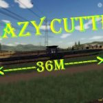 CRAZY CUTTER POWERFLOW V1.0 / FS19 cutters