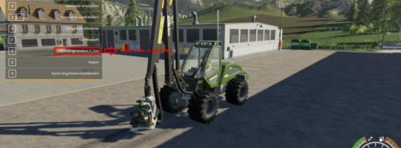 SampoRosenlew HR46X Multicolor V 1.0.0.1 Multicolor / FS19 Excavators and forklifts