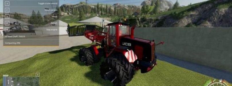 JCb 435 SiloBoss V 1.2.4 / FS19 Excavators and forklifts