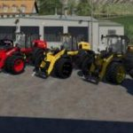 NEW HOLLAND WHEEL LOADER BY ALEX BLUE 1.0.0.1 BETA / FS19 Excavators and forklifts