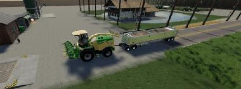 KRONE X-COLLECT 900-3 POPLAR V1.0.1 / FS19 cutters