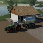 Sales point for milk and eggs v1.0 FS19 / FS19 building