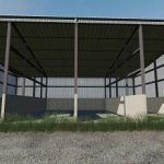 Placeable Commodity Shed v1.0 / FS19 building