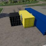 ATC Container Pack v1.0.0.3 / FS19 building
