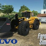 VOLVO L220H WITH BUCKET / FS19 Excavators and forklifts