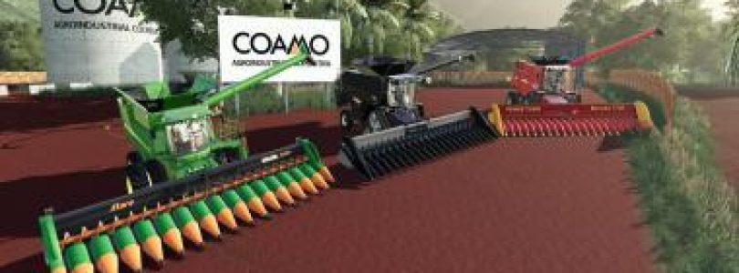 PACK HEADERS V1.0.0.0 / FS19 cutters