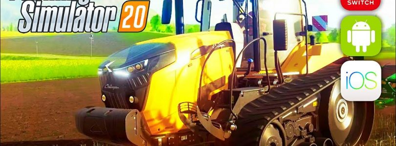 Farming simulator 2020 FS20 and FS19 Platinum edition gameplay trailer