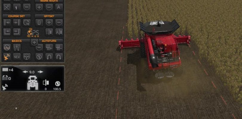 Farming simulator 2019 FS19 GPS – how to use it