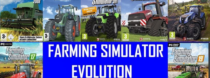 Evolution of Farming simulator 2008 till 2019 video
