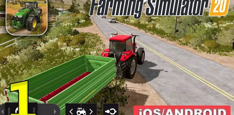 Farming Simulator 20 Gameplay for Android & iOS