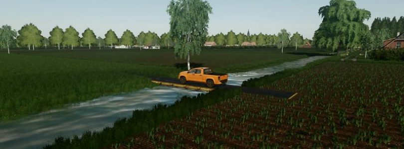 How to build bridge in Farming simulator 2019 – fs19