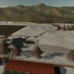Monti Dauni Multifruit Seasons Ready v1.1 / FS19 map to download