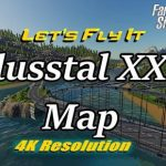 FLUSSTAL XXL ALL NEW V1.0.1.0 / FS19 map