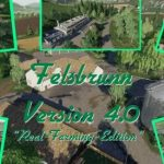 FELSBRUNN UMBAU – MULTIPLAYER FAHIG V4.0 / FS19 map
