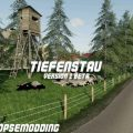 TIEFENSTAU V1.0 BETA / FS19 map