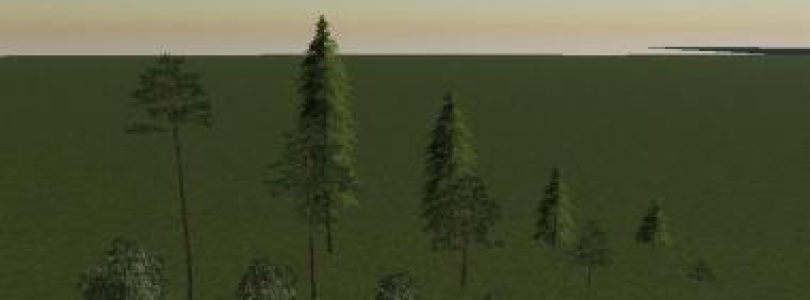 FS19 TREES V1.0 / FS19 object