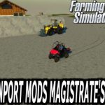 RAVENPORT MAP MOD'S MAGISTRATE EDIT V1.1 / FS19 map