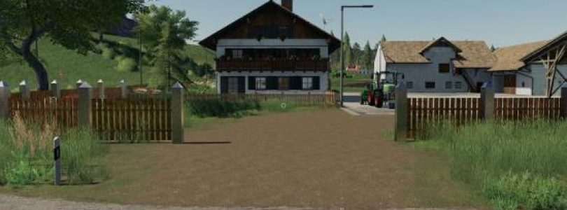 PLACEABLE FENCE SET V1.0 / FS19 object