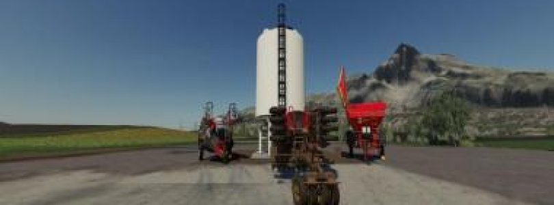SEED / LIME / LIQUID FERTILIZER – PLACEABLE FILLING STATION V1.0 / FS19 object