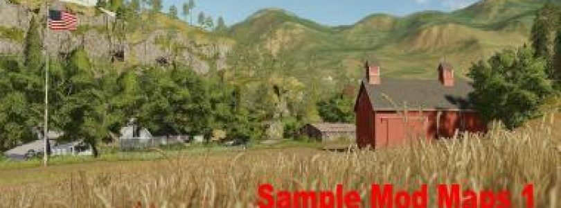 SAMPLE MODS MAP US COMPLETE V1.0.0 / FS19 map