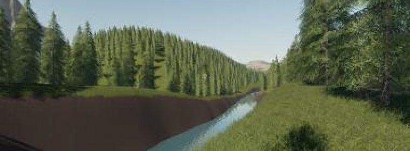 BOULDER CANYON LOGGING MAP V1.0 / FS19 map