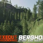 BERGHOLMEN HARDCORE FORESTRY / FS19 map