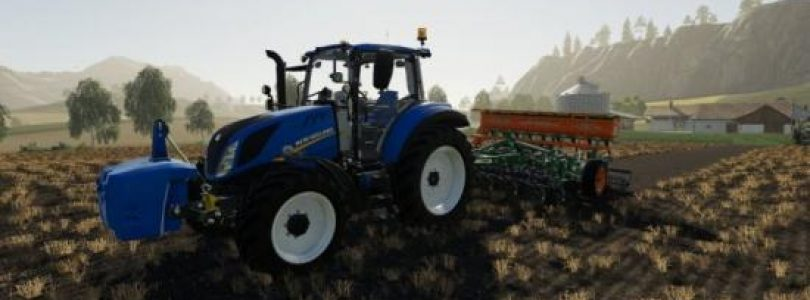 New Holland T5 Chip Tunning / FS19 Tractors