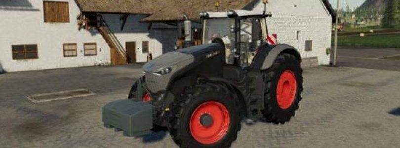 FENDT 1000 VARIO BLACK BEAUTY V1.0.0 / FS19 Tractors