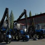 REAL FORESTRY MACHINERY PACK V0.2.0.0 / FS19 packs