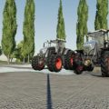 US AGCO TRACTOR PACK V1.0 / FS19 Tractors